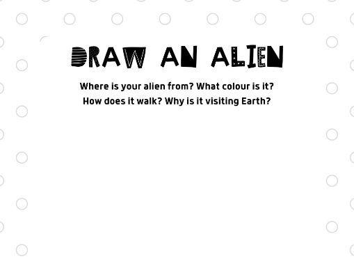 Draw An Alien