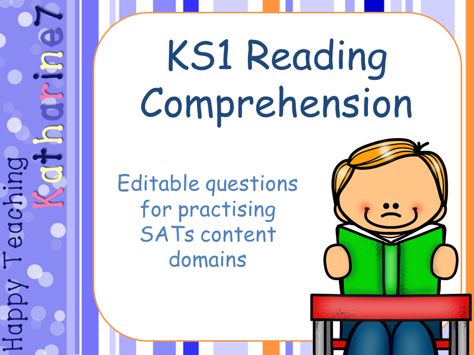 Editable KS1 Reading Comprehension SATs style questions and question templates