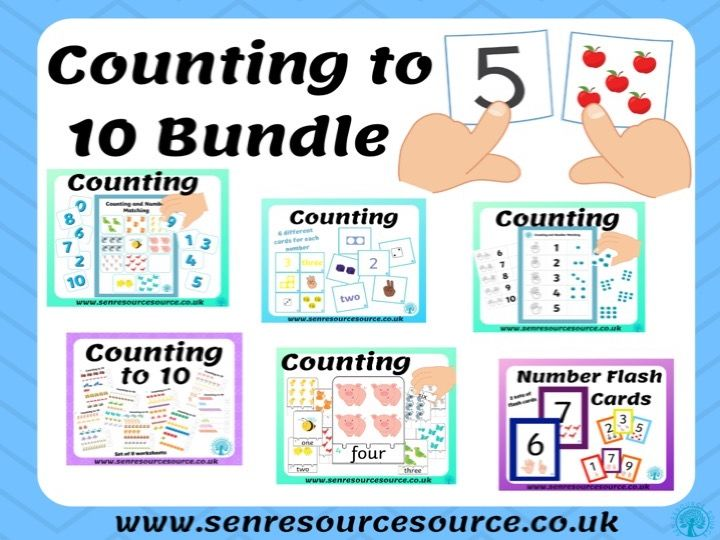 Counting to 10 Bundle
