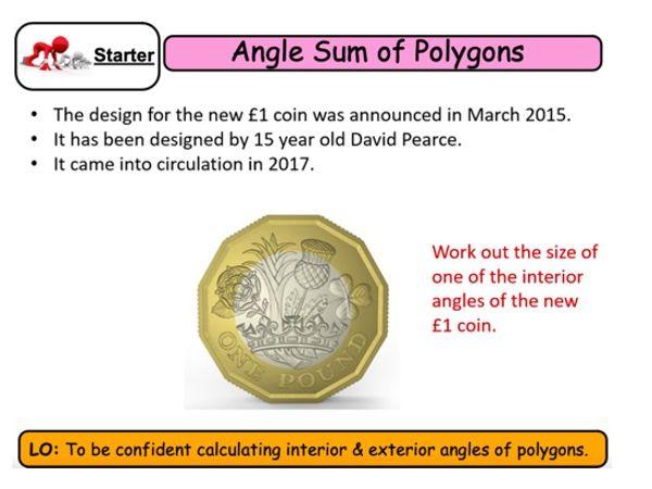 KS4 Maths - Interior & Exterior Angles of Polygons