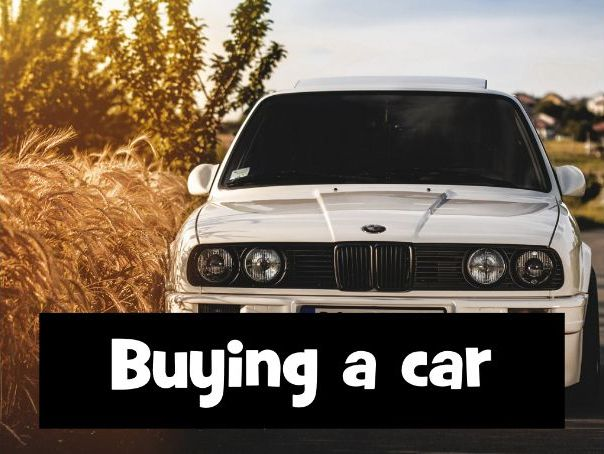 How to buy a car - Tutor Group Activity