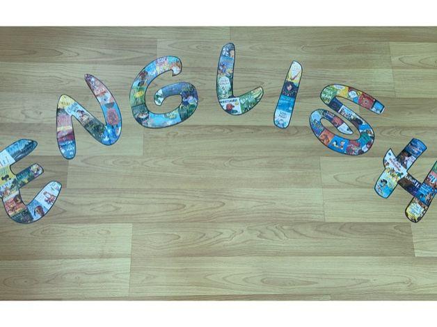 English Display Lettering (Disney Font)