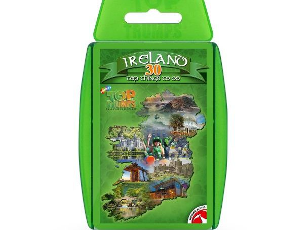 30 Things To Do In Ireland Top Trumps - Full Deck