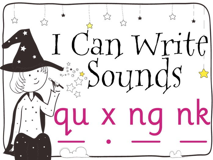 Magic Sounds Phonics: Set 7: qu x ng nk