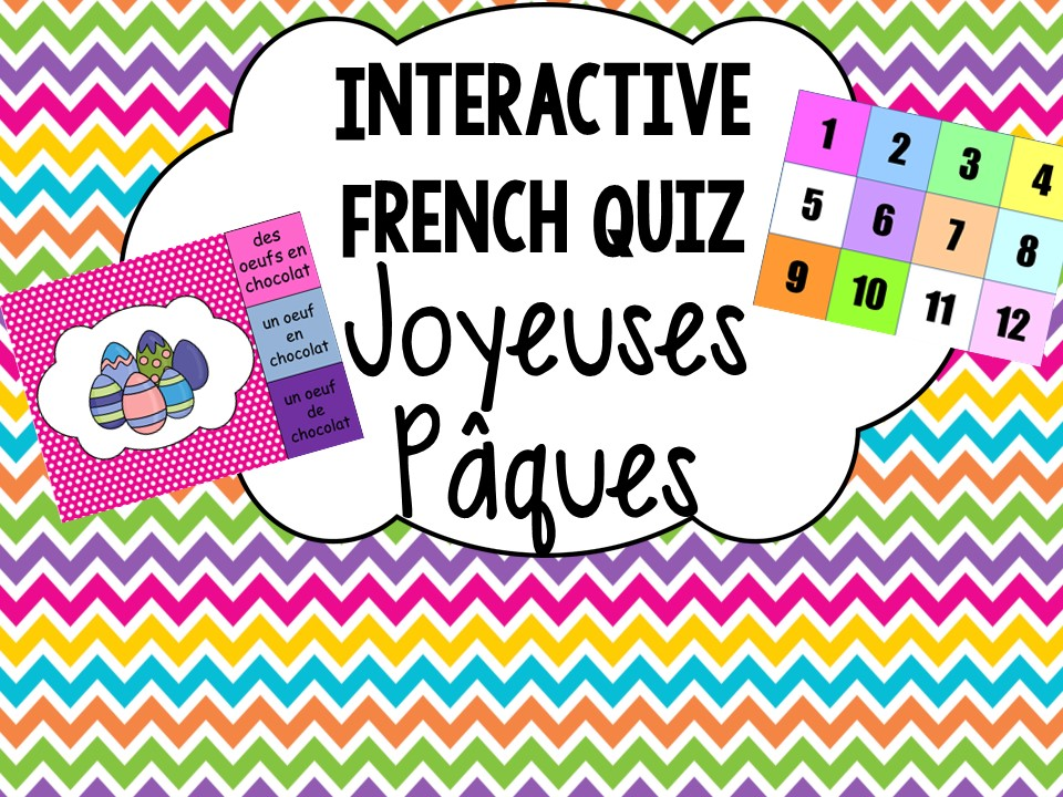 French Interactive Quiz: Easter Joyeuses Paques