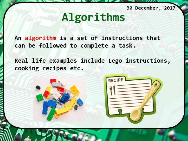 KS2 Introduction to Scratch and algorithms