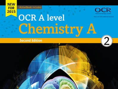 OCR A level  Chemistry Module 5 (year 2) resources including assessments