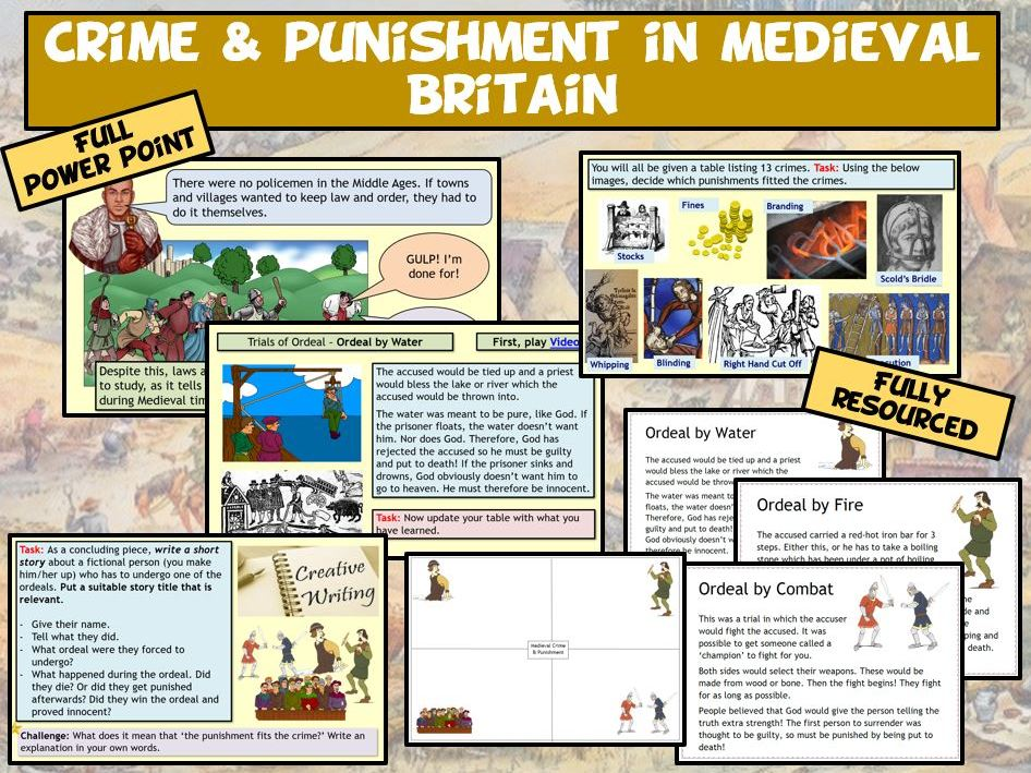 Medieval - Crime & Punishment