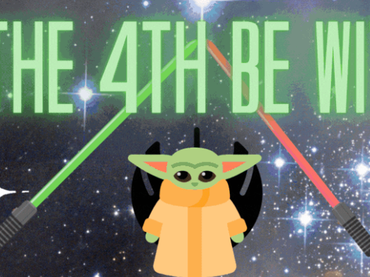 Google Classroom May The 4th Be With You GIF