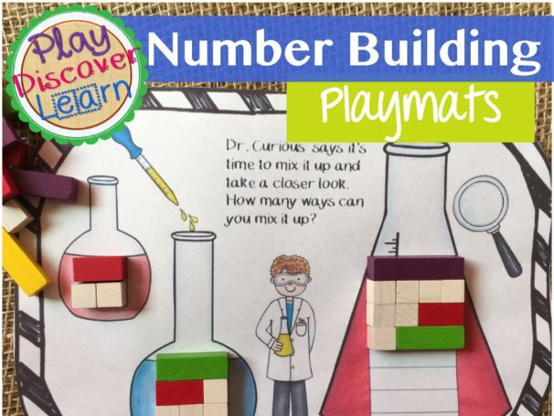 PDL's Number Building Play Mats for Cuisenaire® Rods