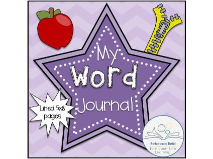 Word Journal (Half-Page Size)