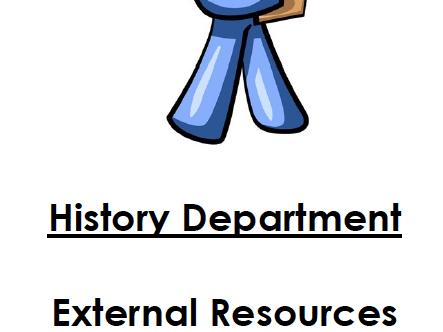 Extra Tasks/Activities Year 9 (Not in pupil workbooks)