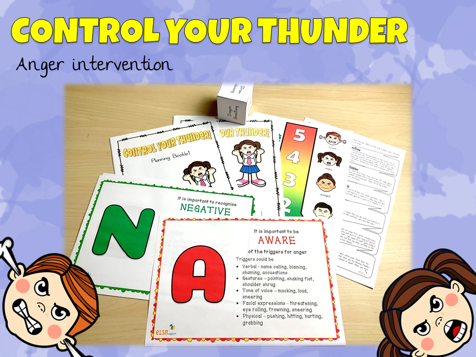 Control your Thunder - Anger intervention