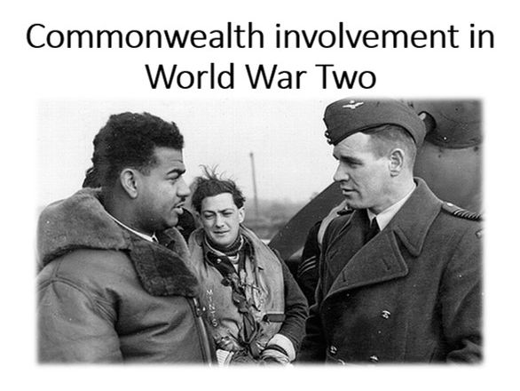 Commonwealth involvement and treatment during WW2