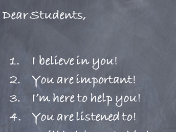 Motivational, self-belief poster for your classroom
