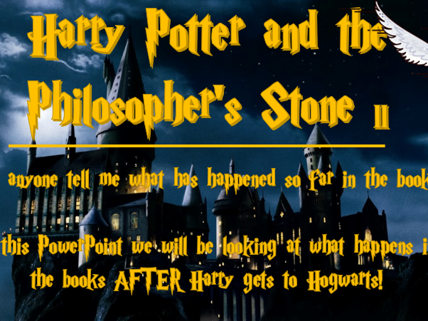 Harry Potter PowerPoints