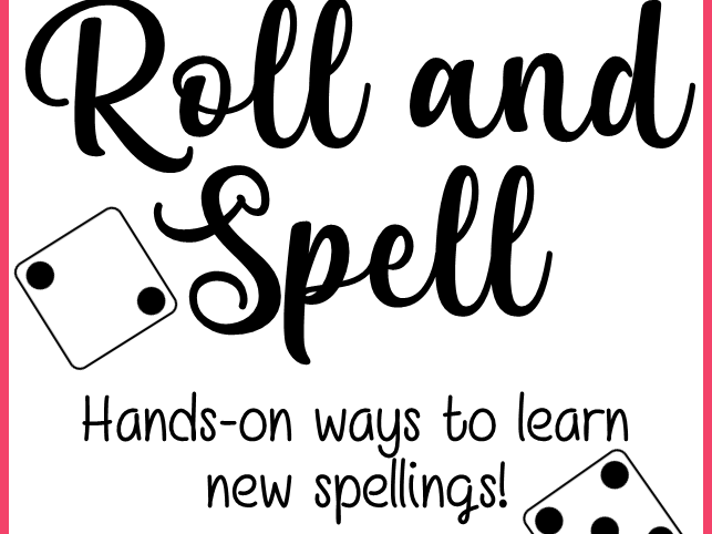 Roll and Spell Spelling Practice