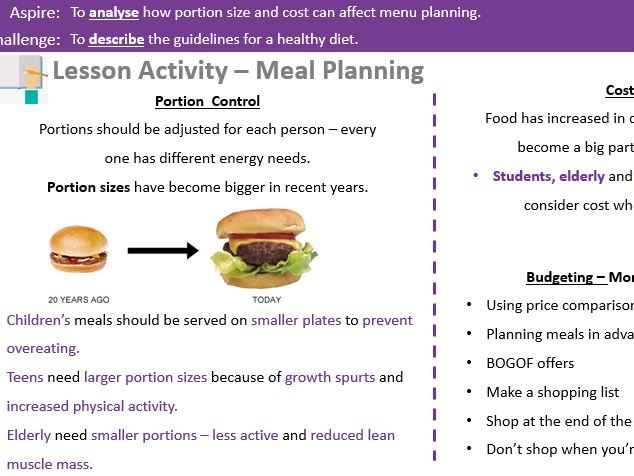 Healthy Eating Guidelines Revision