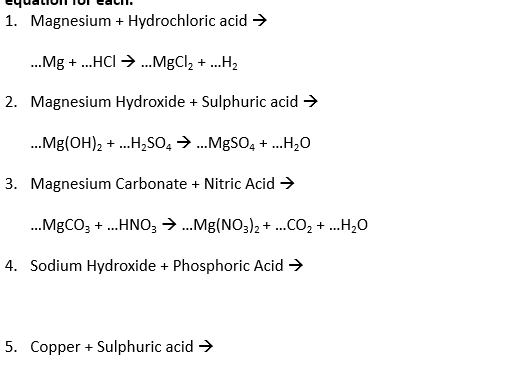 GCSE Chemistry - C4 combined science worksheets