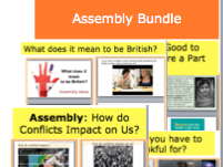 Assembly Bundle! Britishness, Growth Mindset, KS3, KS4