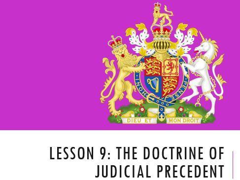 ELS - Judicial Precedent Lesson