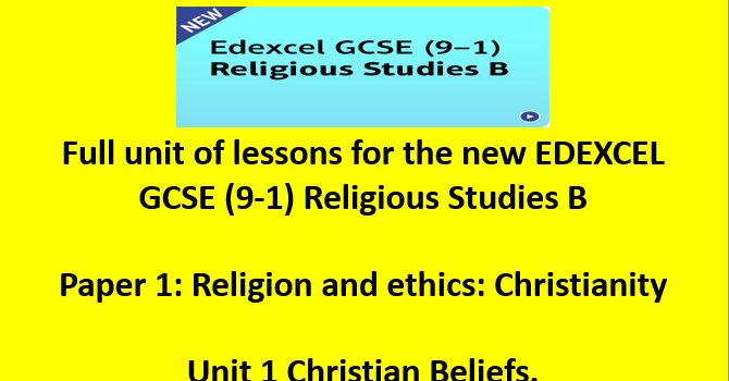 Edexcel GCSE Religious Studies: Exam 2 (Unit 8) Definitions