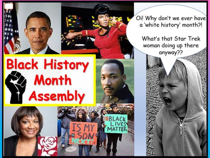 Black History Assembly + Quiz
