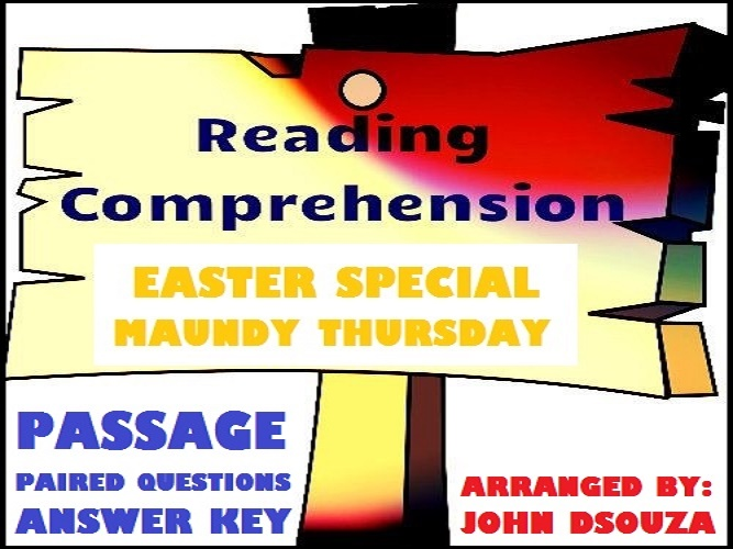 READING COMPREHENSION: EASTER SPECIAL