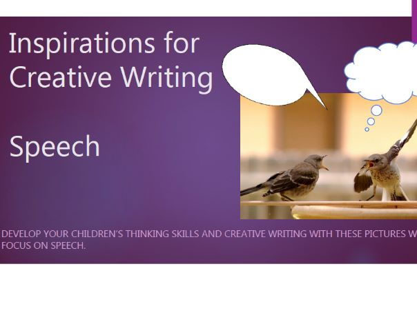 Creative Writing - Speech
