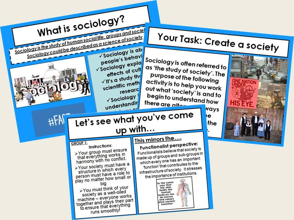 AQA Sociology - Taster Lesson