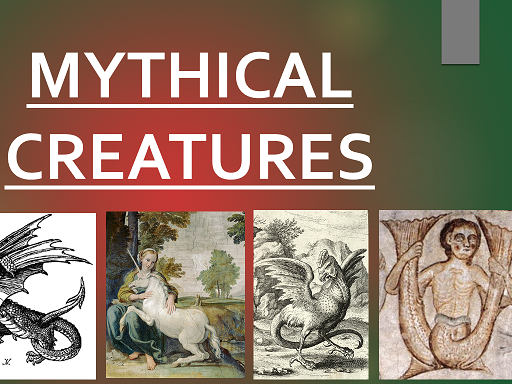 KS2 Mythical beasts powerpoint