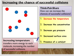 KS4 C8.3 Rate of reactions - the effect of temperature