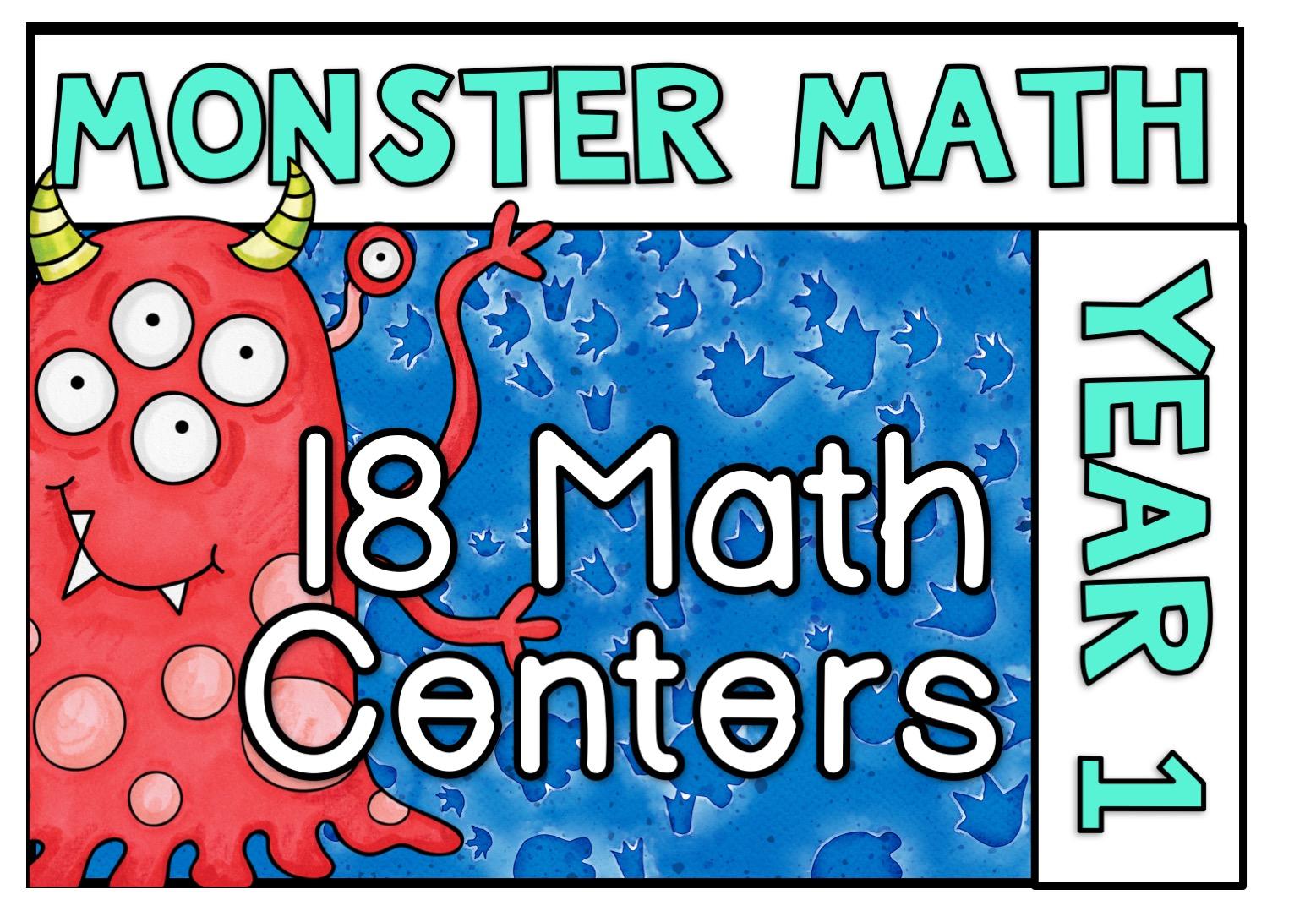 Monster Math Year 1
