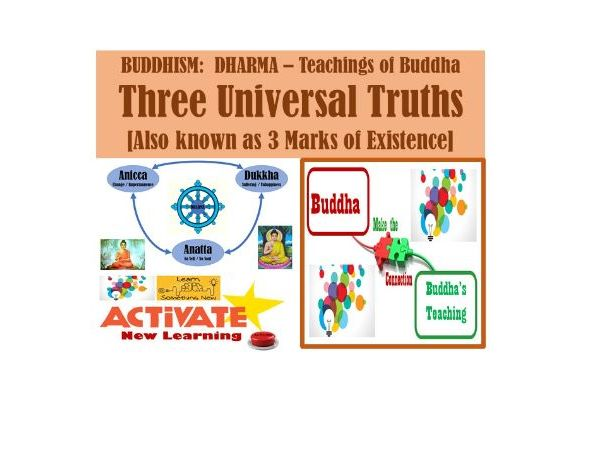 3 Universal Truths - BUDDHISM