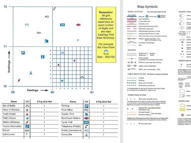 Map and Compass Skills Booklet