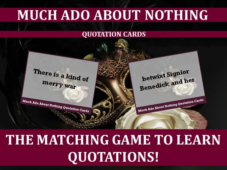 Much Ado About Nothing Revision