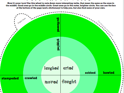 Make Your Own Word Wheels - Editable Versions - MULTIPACK