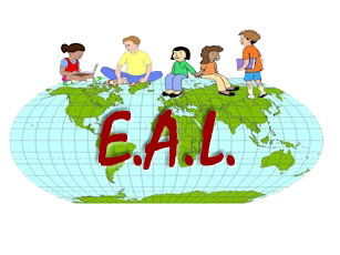 EAL Worksheets- match the term to your image