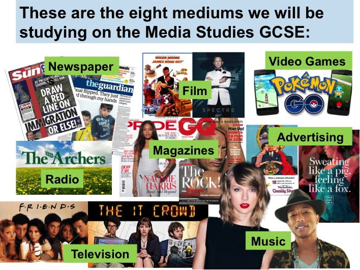 9-1 GCSE Media Studies Key Concepts (7 week SoW)