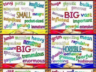 Synonyms Posters | Teaching Resources