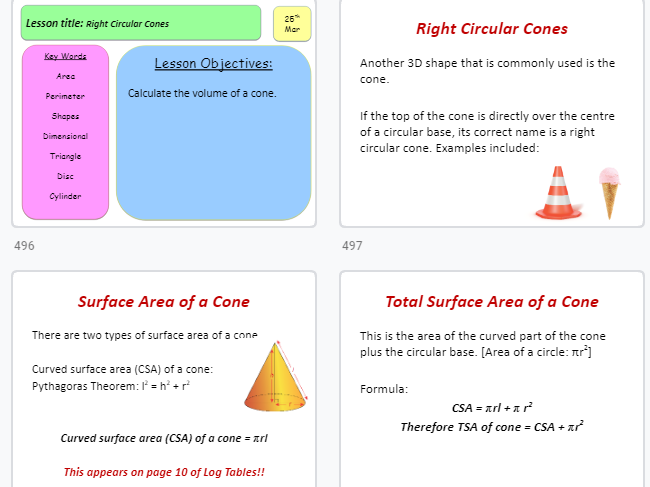 Leaving Cert Ordinary Maths Document - completed (over 550 slides!!)