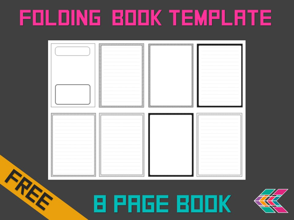 Folding Book Template