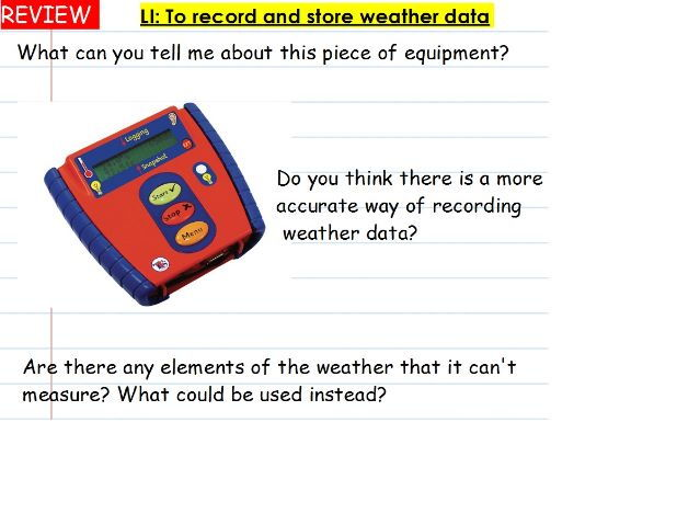 KS2 computing planning - recording presenting weather whole unit of work (we are meteorologists) Y3