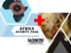 AFRICA + BADINERIE ACTIVITY PACKS
