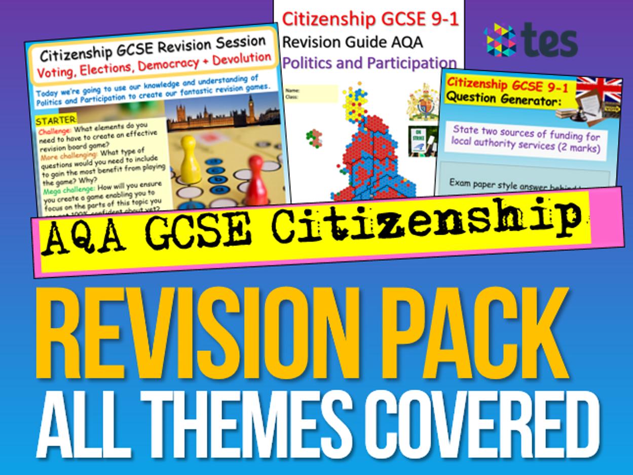 AQA Citizenship GCSE Revision