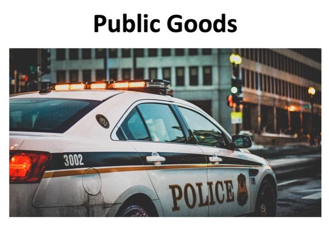 A level Economics - Public Goods