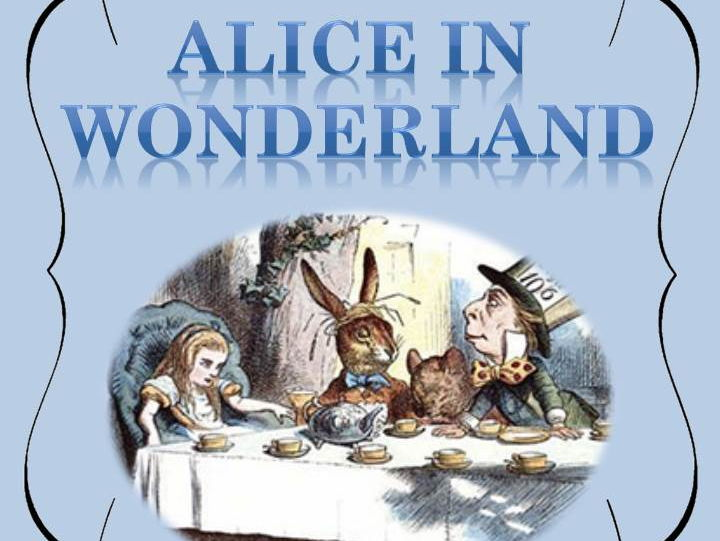 Alice in Wonderland - Play script