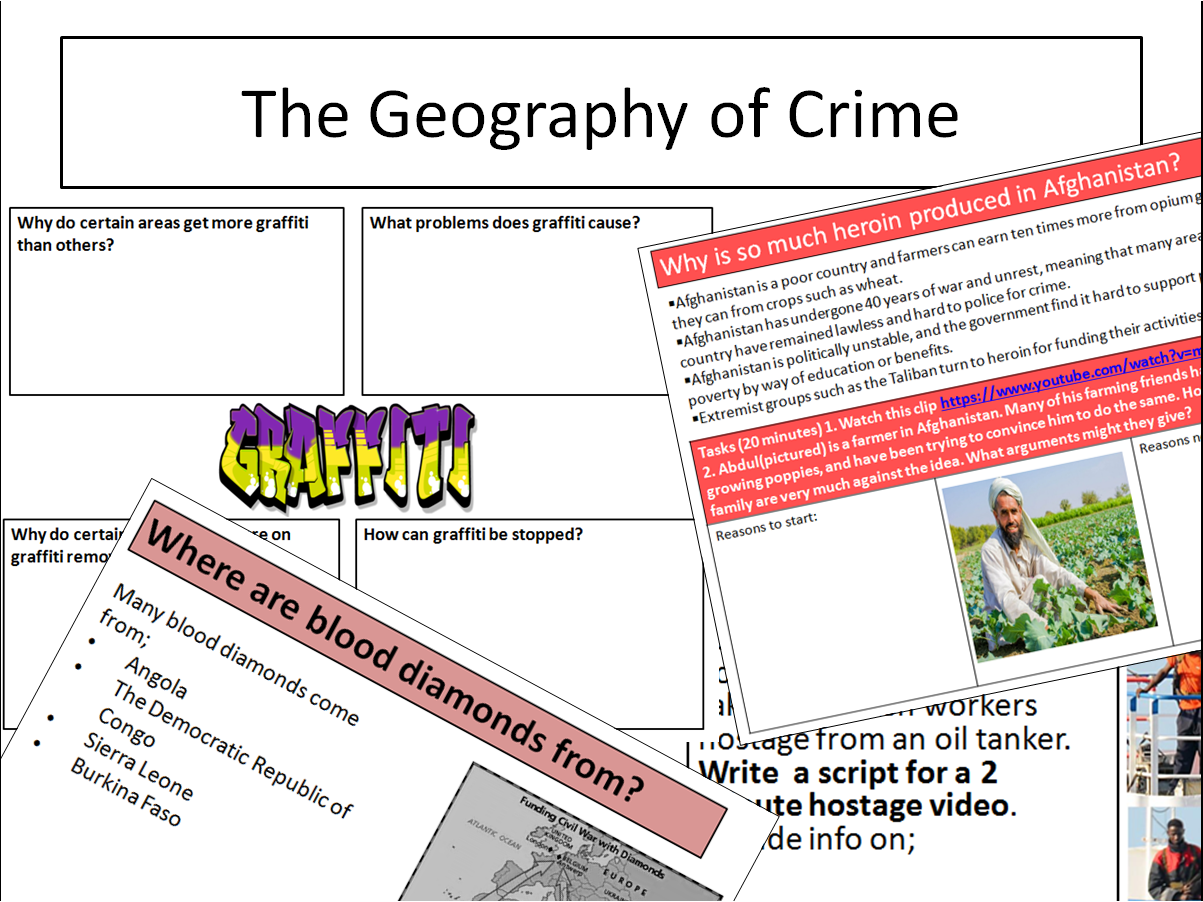 Geography of crime bundle