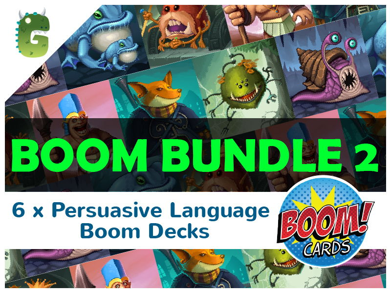 Persuasive Language BOOM BUNDLE 2