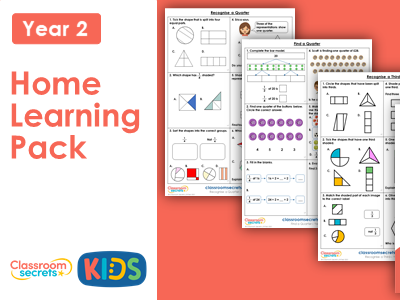 Year 2 Spring Week 12 Home Learning Maths Pack